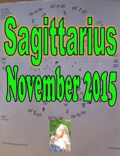 Sagittarius Astrology & Tarot for November 2015 Divination Reading by My...