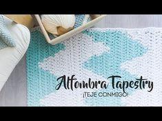 ¡Toma nota, duendecillo! Hoy vamos a tejer una alfombra a crochet, con la técnica del tapestry, que ya empezamos a aprender con nuestra cestita de #Chemapach...