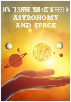 Space And Astronomy Activities and resources for young space and astronomy lovers - Are your kids interested in space? Activities and resources to support young astronomy and space enthusiasts. Space Activities, Science Activities For Kids, Cool Science Experiments, Stem Science, Preschool Science, Science Education, Science Projects, Kids Education, Science Writing
