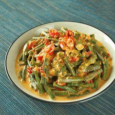 Tumis Kacang Panjang - Snake Bean Stir Fry