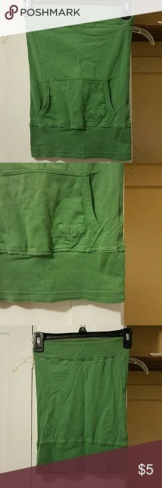 American Eagle fitted tube top Used, great condition. Built in non padded bra, pocket in front. XS, stretchy American Eagle Outfitters Tops Tank Tops