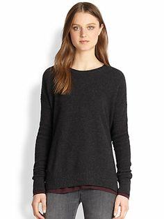 Vince - Textured Dolman Sweater - Saks.com