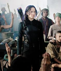 """The Hunger Games: Mockingjay Part (Director: Francis Lawrence) My Rating: out of 5 stars Hunger Games Pin, Hunger Games Novel, Hunger Games Mockingjay, Hunger Games Catching Fire, Jennifer Lawrence, I Volunteer As Tribute, Katniss Everdeen, Liam Hemsworth, Movies Showing"