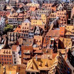 "328 Gostos, 5 Comentários - Cristina Surdu (@cristinasurdu) no Instagram: ""In love with #Strasbourg 💛💛💛! #France #travel #world #view"""