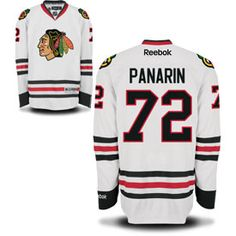 Get this Chicago Blackhawks Artemi Panarin White Premier Jersey w/ Authentic Lettering at ChicagoTeamStore.com