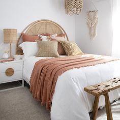 Room Design Bedroom, Room Ideas Bedroom, Bedroom Styles, Bedroom Inspo, Home Decor Bedroom, Boho Teen Bedroom, Bohemian Style Bedrooms, Bed Room, Earthy Bedroom