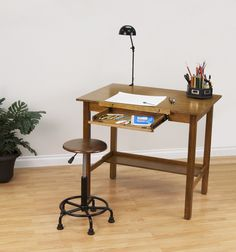 Beau Amazon.com: STUDIO DESIGNS Americana II Drafting Table 30in X 42in Light  Oak 13254
