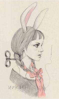 Amazing illustrations by Yukari Terakado