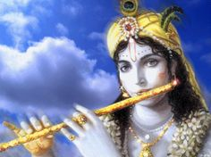 KRISHNA BLUE CLOUDS by VISHNU108