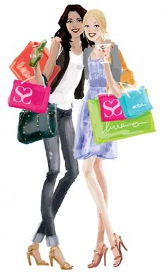 Lady's night out should include shopping. @Diana Rodriguez