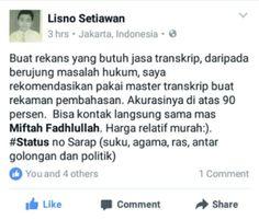 https://web.facebook.com/lisno.setiawan/posts/10208876059472916