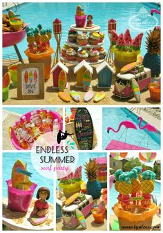Endless Summer Surf Party ~ by Lynlee's