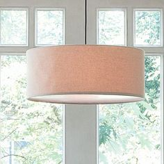 Looking for a new pendant for over my dining room.  Love this one.  Nice and simple