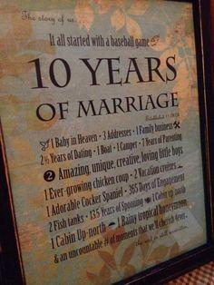 10 Years Wedding Anniversary 10 Years Wedding Anniversary