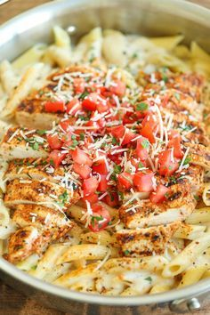 Cajun Chicken Pasta - Chili's copycat recipe made at home with an amazingly creamy melt-in-your-mouth alfredo sauce. And you know it tastes 10000x better!                                                                                                                                                                                 More