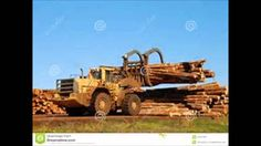 Hydrostatic Timber Harvester