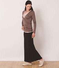 8440ff0888 Organic Bex Maxi Skirt by naturally Cornish EKO WomenswearEarth Kind  Originals