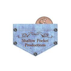 CizaStudios.com created this logo for Shallow Pocket Productions. Shallow, Trust God, Graphics, Graphic Design, Pocket, Create, Logos, Charts, Logo