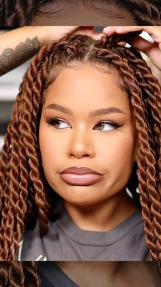 """Alissa Ashley on Instagram: """"Yesterday's glam, pretty much soft glam with a tiny twist! I tried the #foxeye trend with my epicanthic folds (surprisingly a lot of people…"""" Epicanthic Fold, Alissa Ashley, Fox Eyes, Pretty Much, I Tried, Vacation Hair, Make Up, Dreadlocks, Photo And Video"""