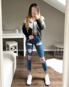 teenager outfits for school . teenager outfits for school cute . Teen Fashion Outfits, Mode Outfits, Look Fashion, Fall Outfits, Summer Outfits, Preteen Fashion, Fashion Ideas, Swag Outfits, Fashion Inspiration