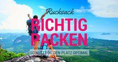 Wie du am besten platzsparend packst, erfährst du hier...  http://flashpacking4life.de/rucksack-richtig-packen-packtipps-backpacker-platzsparend-packen/