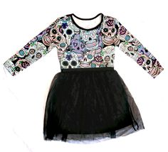 Girl summer dress tutu five designs sugar skull goth Baby girl ross red purple Little Girl Dresses, Girls Dresses, Summer Dresses, Sugar Skull Dress, Sugar Skulls, Goth Baby, Sugar Skull Design, Kids Fashion, Fashion Design
