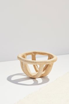 SIN For UO Beige Handmade Prong Catch-All | Urban Outfitters