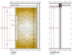 autocad para construção de edifícios: AutoCAD 2013 Aula 9.3: Comando CIRCLE aplicado ao desenho de uma porta pivotante