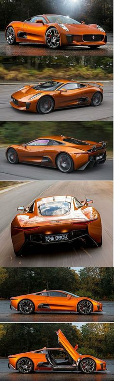 Jaguar C-X75  - If you have any images you wish to submit email to…  #RePin by AT Social Media Marketing - Pinterest Marketing Specialists ATSocialMedia.co.uk