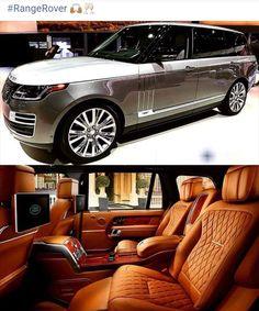 My Dream Car, Dream Cars, Range Rover Interior, Luxury Van, Range Rover Supercharged, Range Rover Sport, Range Rovers, Suv Cars, Best Luxury Cars
