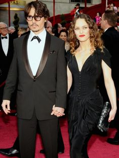 Vanessa Paradis and Johnny Depp  they were so cute together