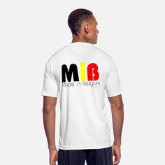8a4ba53aa19 Belge T-shirts - MiB Made in Belgium by XGenTension - T-shirt sport
