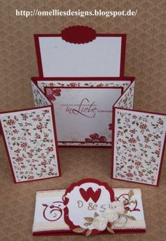 Stampin UP , Hochzeitskarte, Z-Gate-Tag Fold Card, Wedding Card , Chili Mehr Fun Fold Cards, Pop Up Cards, Folded Cards, Step Cards, Interactive Cards, Shaped Cards, Card Tutorials, Card Sketches, Homemade Cards
