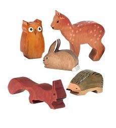 woodland animal set... cute for woodland nursery!