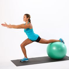 What Size Exercise Ball to Buy For Your Height Physio ball, exercise ball, stability ball, fitness ball — whatever you call it, we think a ball is must have for just about everyone. A stability ball Exercices Swiss Ball, Stability Ball Abs, Pilates, Coach Sportif, Yoga Props, Back Exercises, Aerobic Exercises, Health And Fitness Tips, Physical Fitness