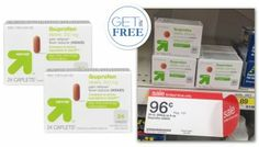 Free Up & Up Ibuprofen at Target!