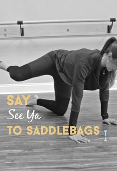 Target those problem area saddlebags with this workout that will tone and sculpt your the lower and side part of your tush. You've never worked that area like this before!
