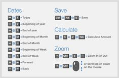 Check out some simple keyboard shortcuts you can use within QuickBooks.