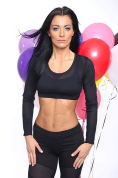 Basic collection  MSO Fitness Clothing Black leggings with mesh #