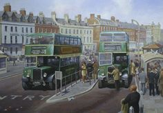 Bristol K's at Weymouth » Transport Artist