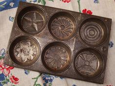 Vintage Ovenex Ekco Usa Cupcake Muffin Metal Tin Pan