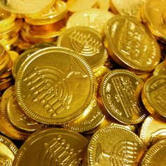 We're preparing for tonight's Hanukkah festivities at the free Synagogue of Flushing! Gold Money, My Money, Gold Coins, Glitch, Hanukkah, Free, Color, Yellow, Colour