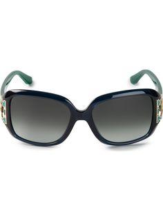 SALVATORE FERRAGAMO two-tone sunglasses
