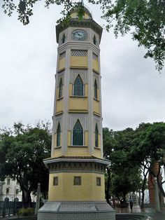 Moorish clock tower Guayaquil Ecuador