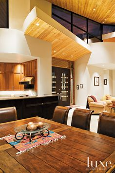 #Luxe Arizona  #Dining Room With #Architecture