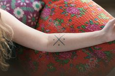 Tattoo Inspiration - Version of a Compass. Each letter is a member of family.