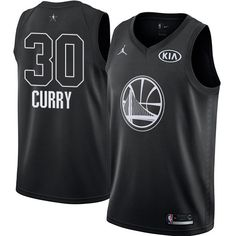 Nike Warriors Stephen Curry Black Youth NBA Jordan Swingman 2018 All-Star  Game Jersey 372712730