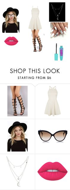 """"""","""" by dreamstyle21 on Polyvore featuring Topshop, RHYTHM, Cutler and Gross, Charlotte Russe and Lime Crime"""