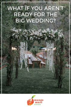 So, things are really starting to open up across the country! And that's exciting!  It means that weddings are coming back too in a real, almost pre-COVID way.  But what if despite getting vaccinated and things doing better, you're still anxious about a big wedding?  Well, you're not alone! Click and learn what your options are from the wedding planning pros at Mango Muse Events, so you can make the right decision for you. #2021wedding #2022wedding #weddingplanningtips Planning A Small Wedding, Plan My Wedding, Free Wedding, Destination Wedding, Wedding Day, Wedding Stills, Open Up, Anxious, Couple Photography
