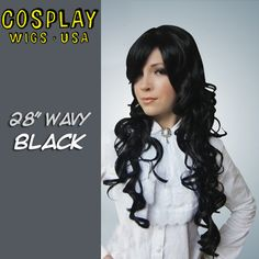 Cosplay Wigs USA™ <br> Curly 70cm/28